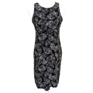 Athleta Santorini High Neck Patterned Dress Size S